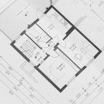 Plan eines Hauses